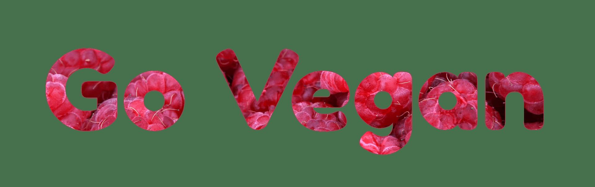 vegan-Going Vegan
