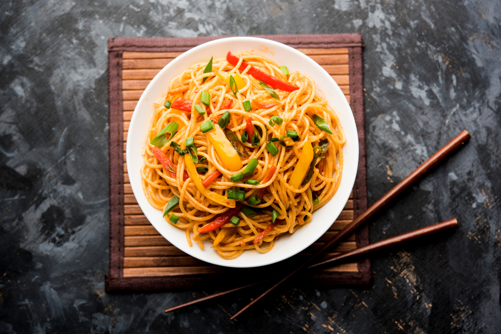 vegan on a budget - noodles
