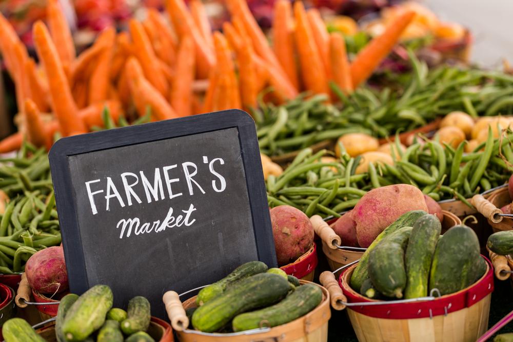 Vegan on a Budget-Shop at Farmers' Markets