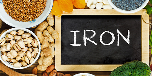 Iron rich foods for vegans and vegetarians