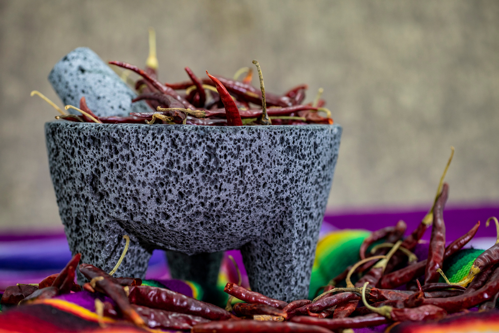 Molcajete : authentic Handmade Mexican Mortar and Pestle