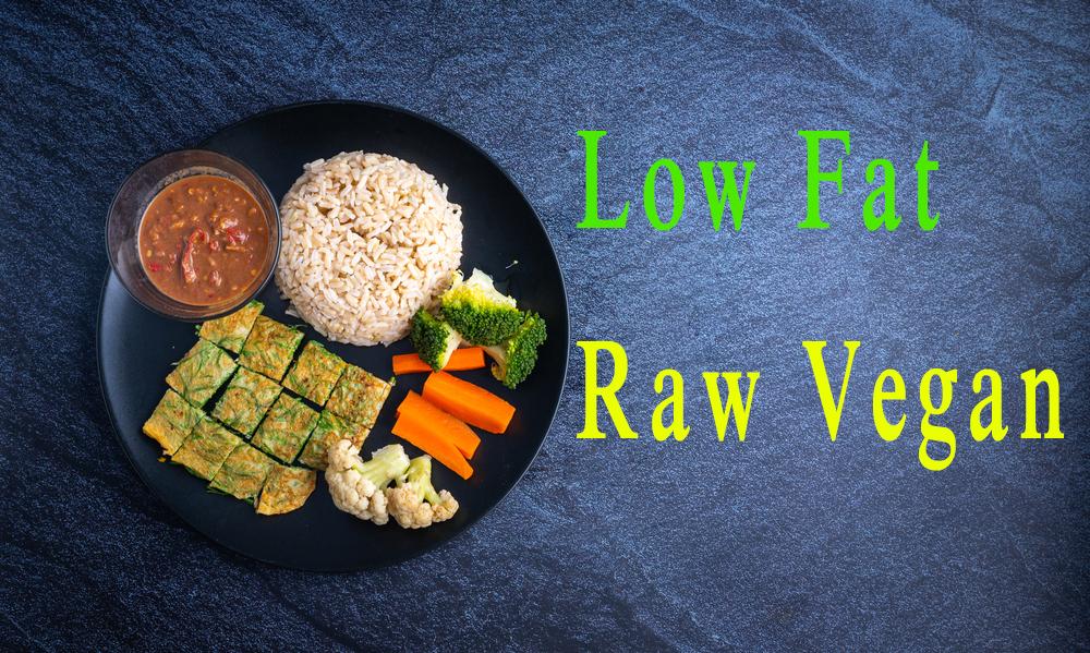 low fat raw vegan